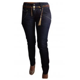 Cocoa Weaved Pocket Jeans