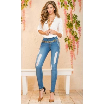 Divina Distressed Jeans