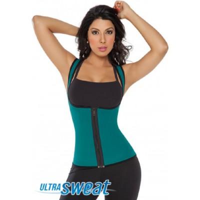 Women's Ultra Sweat Thermal Zipper Vest 8002