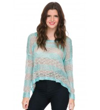 Knit Sequins Sweater