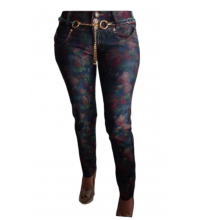 Cocoa Floral Skinny Jeans
