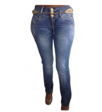 Cocoa Stone Washed Skinny Jeans