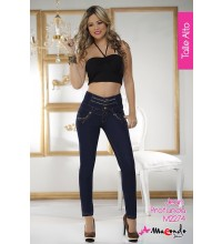 Macondo High Waist Skinny Jeans